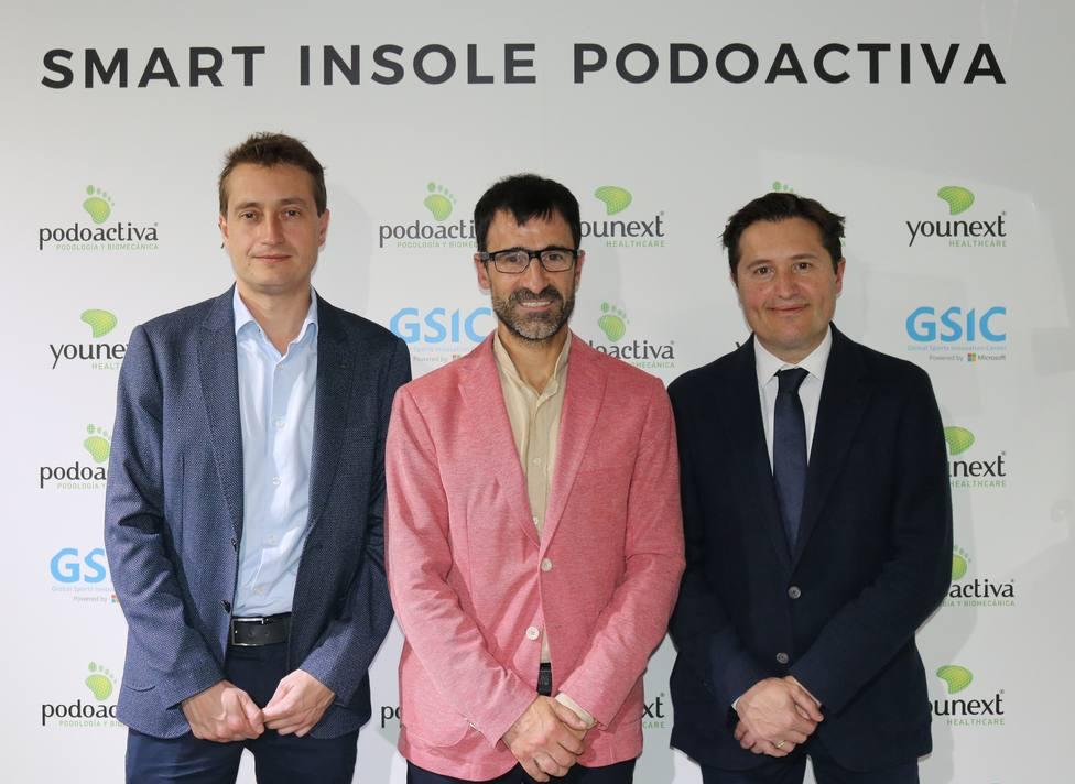 Bragado apadrina el lanzamiento de las primeras plantillas inteligentes personalizadas de Podoactiva