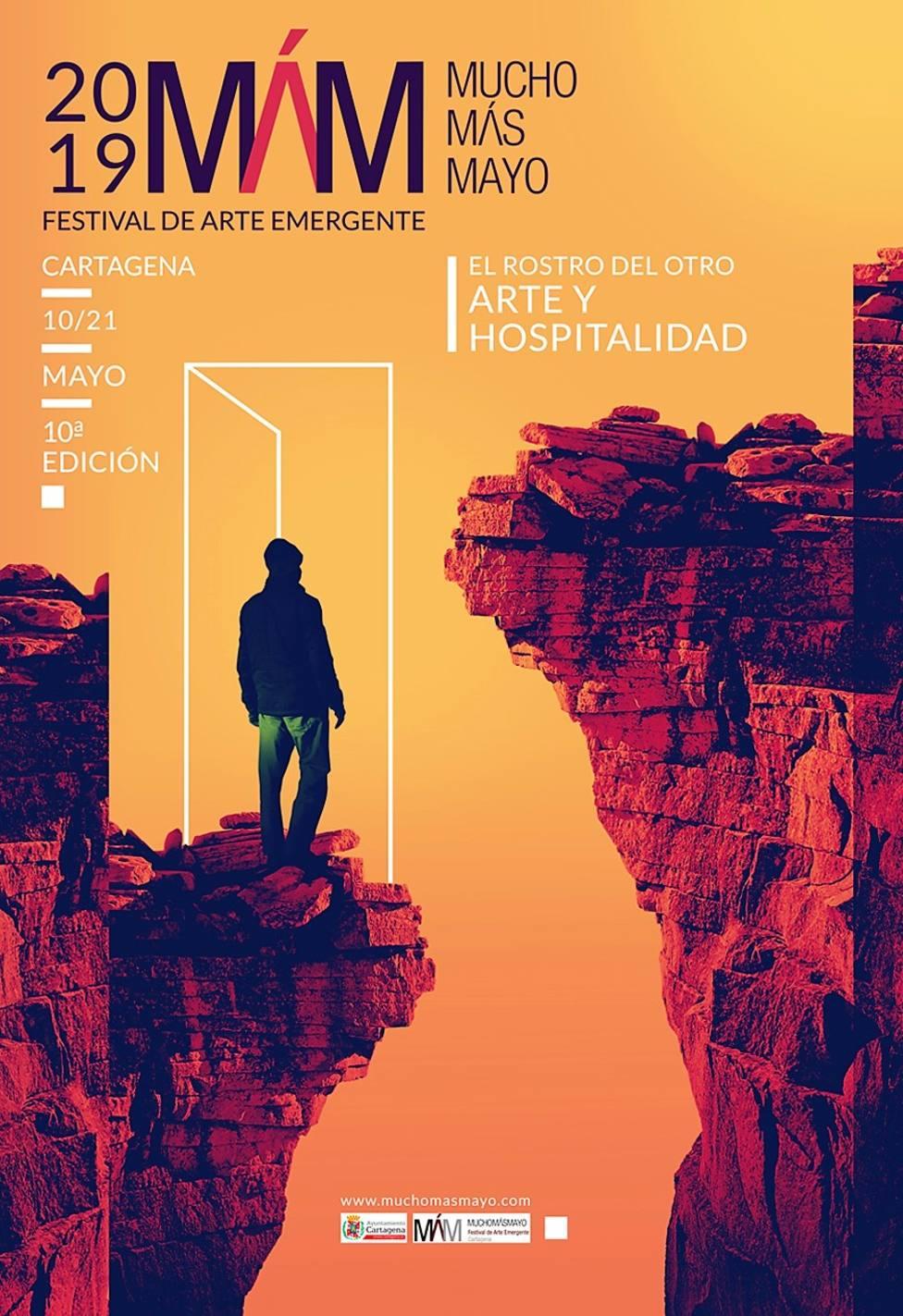 Juan Fargo diseña el cartel del décimo festival Mucho Más Mayo