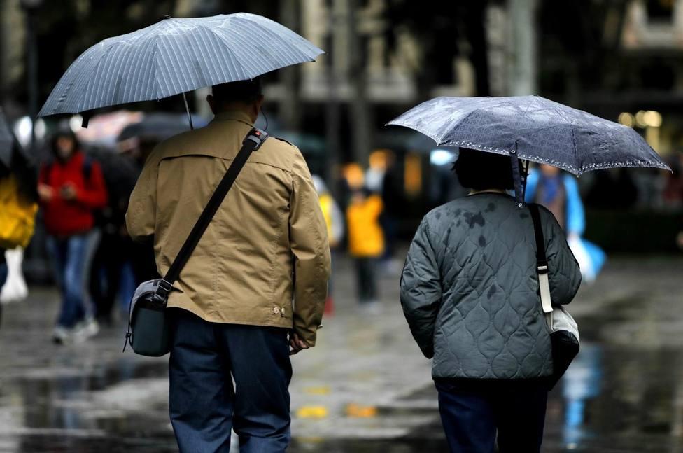 Meteorología activa el aviso amarillo por lluvias el Viernes Santo por la tarde en toda la Región