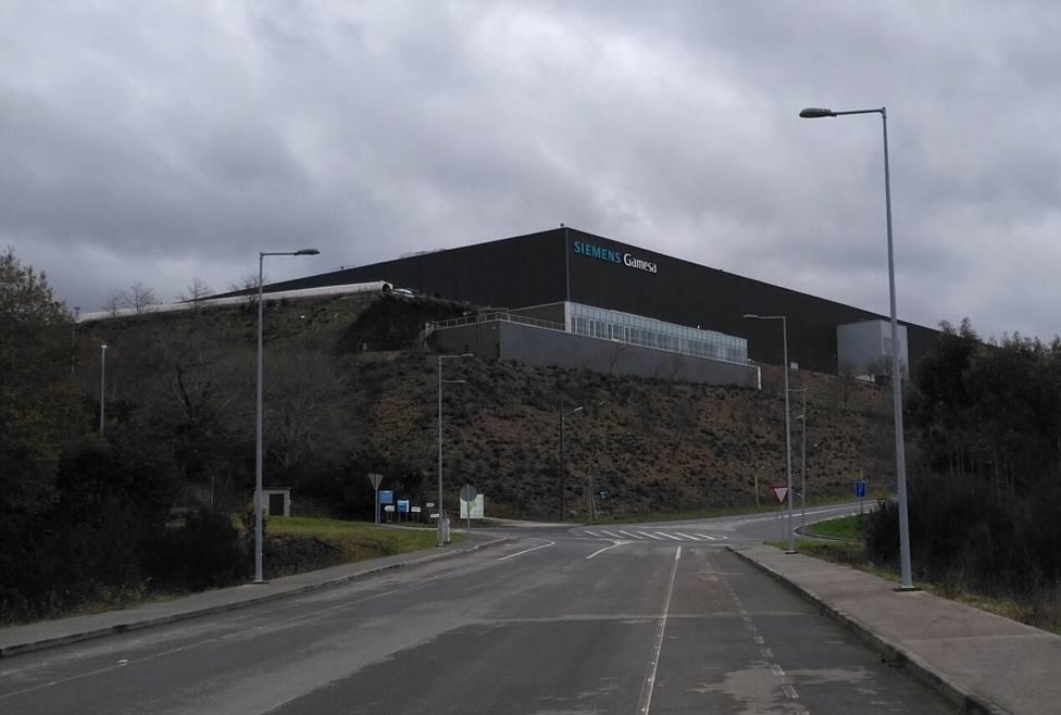 Planta de Siemens-Gamesa en As Somozas