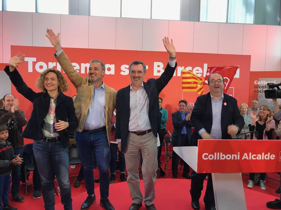 26M.- Iceta cree que el sectarismo independentista no ha podido vetar un proyecto socialista