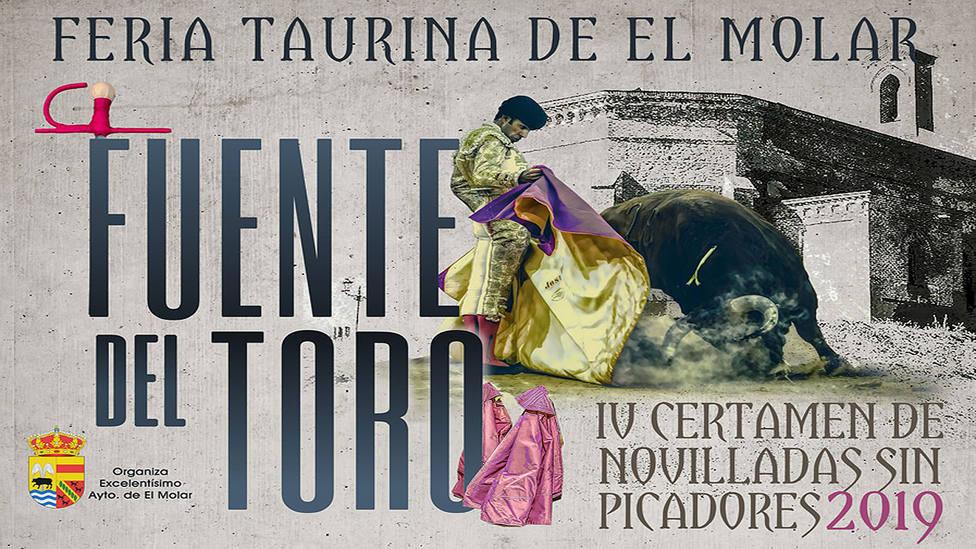 El cartel anunciador de la Feria Taurina de El Molar ha sido creado un año más por el diseñador José Vega