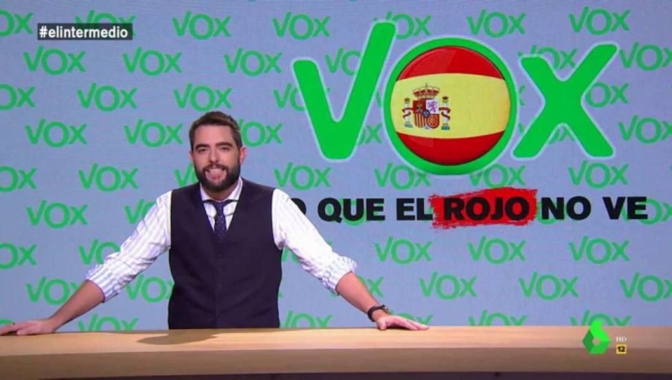 La nueva broma de mal gusto de Dani Mateo sobre Vox
