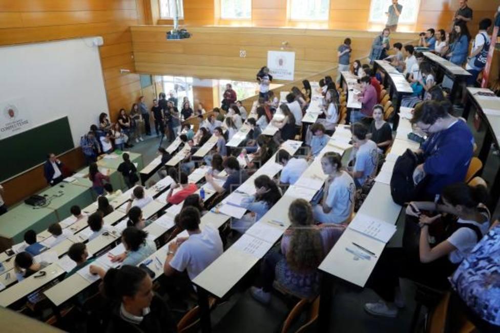 Un total de 5 estudiantes rozan la excelencia en la EVAU de Madrid