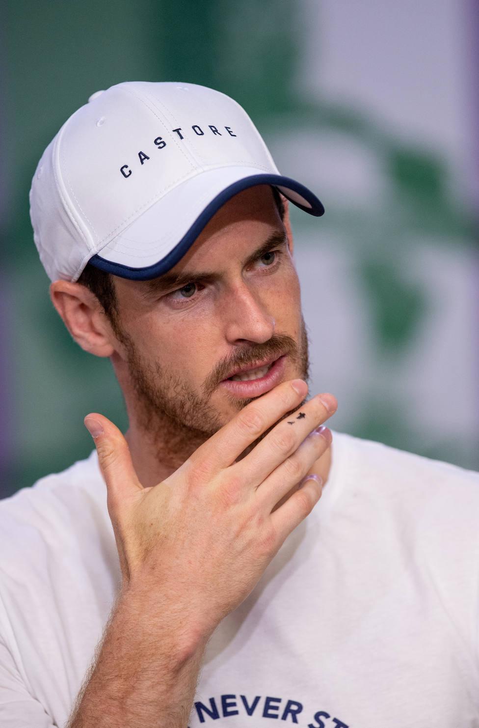 Andy Murray, sobre su lesión de cadera: Me podría llevar 9 o 12 meses recuperar la fuerza
