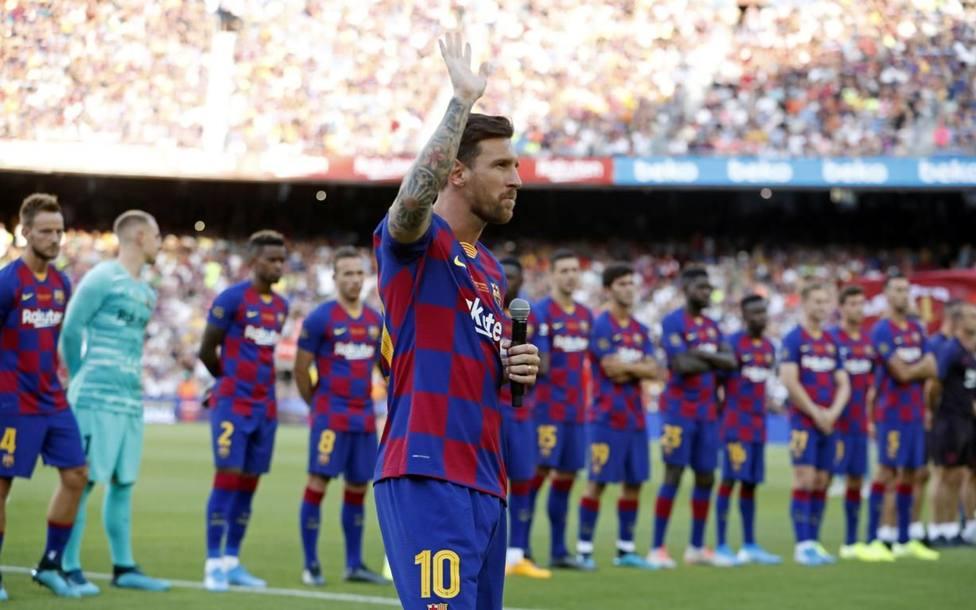 Messi: No me arrepiento de nada, vamos a volver a pelear por todo