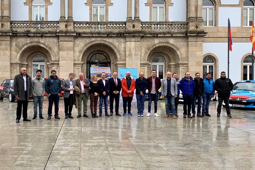 Presentación en la Diputación del Primer Rally Mariña Lucense