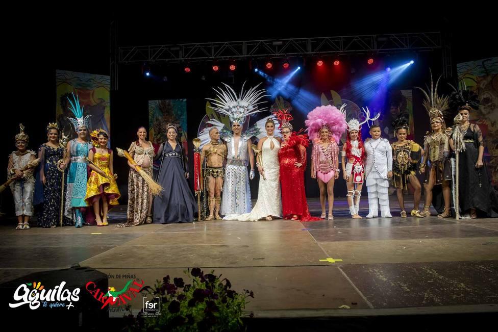 Los protagonistas del Carnaval de Águilas 2020