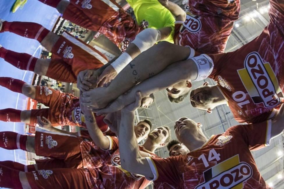ElPozo Murcia FS se juega la continuidad en Copa del Rey frente a Jimbee FS en Cartagena