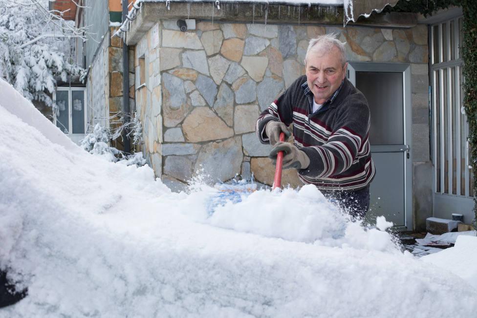 El tiempo de pleno invierno dejará nevadas, mucho frío y viento a partir del fin de semana