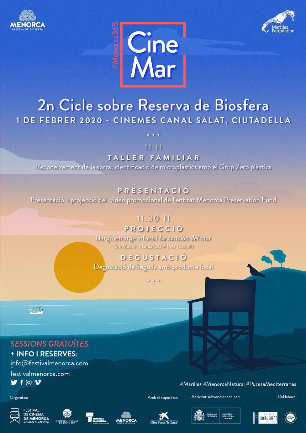 La mar, protagonista del nuevo ciclo de cine de la Reserva de Biosfera