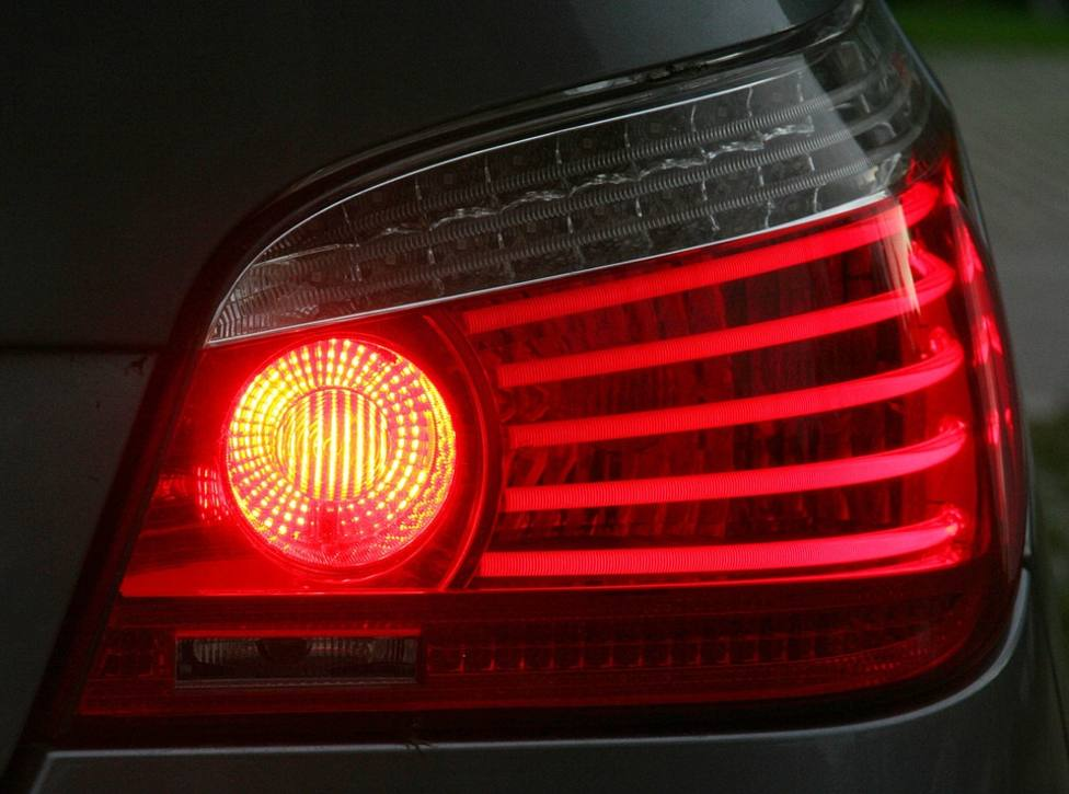 Luz de freno coche