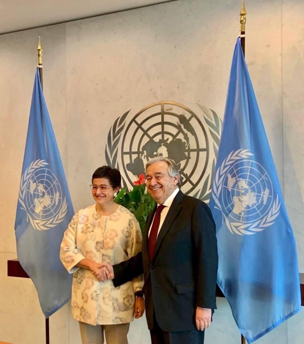 El secretario general de la ONU alaba el papel de España en las crisis de Latinoamérica