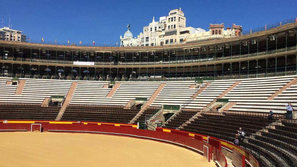 La plaza de toros de Valencia no podrá celebrar este mes de marzo su Feria de Fallas