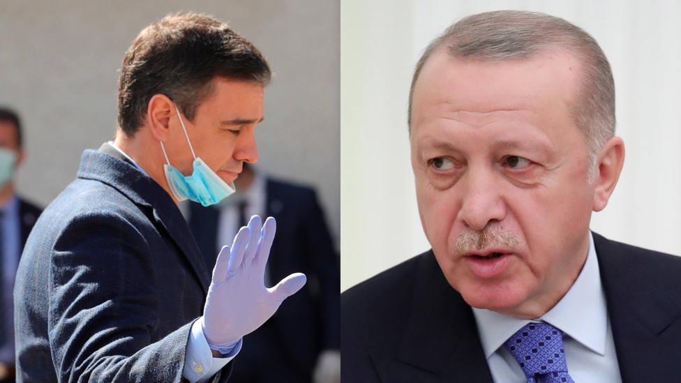 El mensaje de agradecimiento de España a Turquía dos días antes de que Erdogan requise los respiradores
