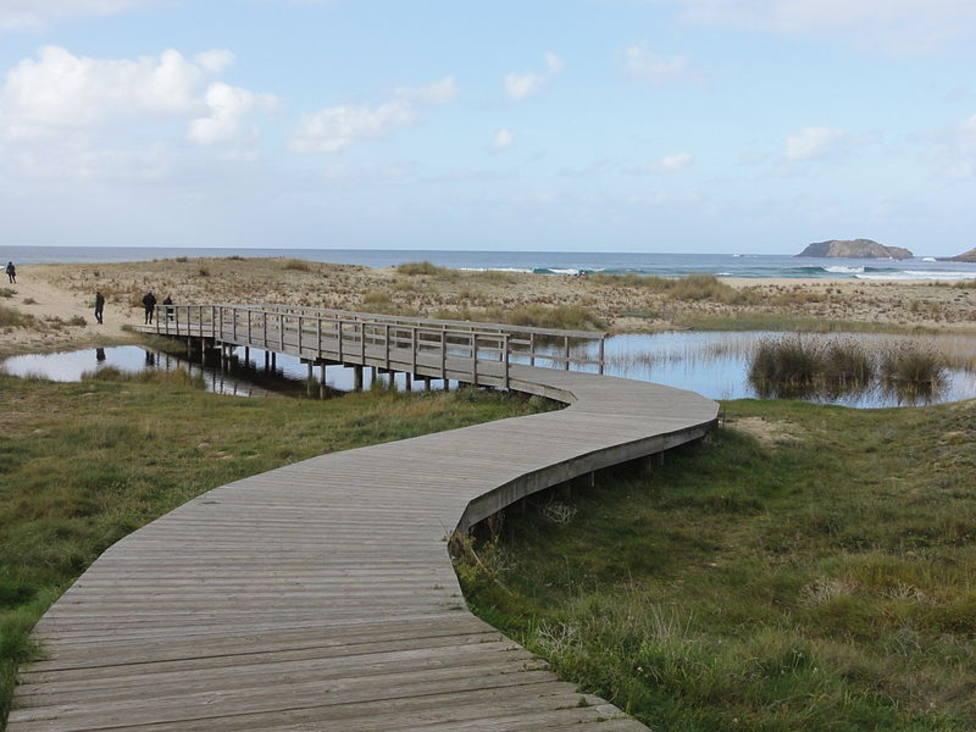 Playa de Doniños, en Ferrol