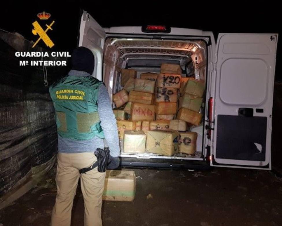 Detenidas 33 personas en Murcia, Almería y Castellón en dos operaciones antigroga de la Guardia Civil
