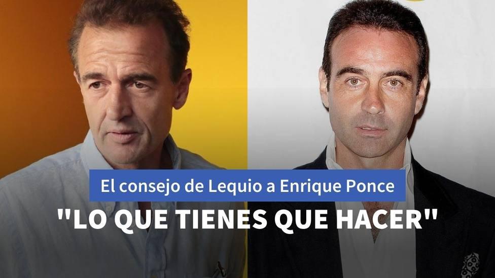 Alessandro Lequio y Enrique Ponce