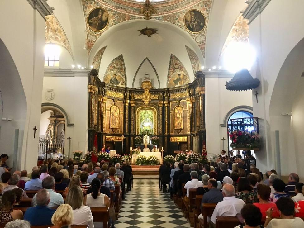 El Ayuntamiento recomienda no acudir al santuario de la Virgen de las Huertas para evitar aglomeraciones