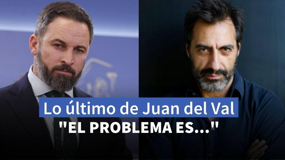 Santiago Abascal y Juan del Val