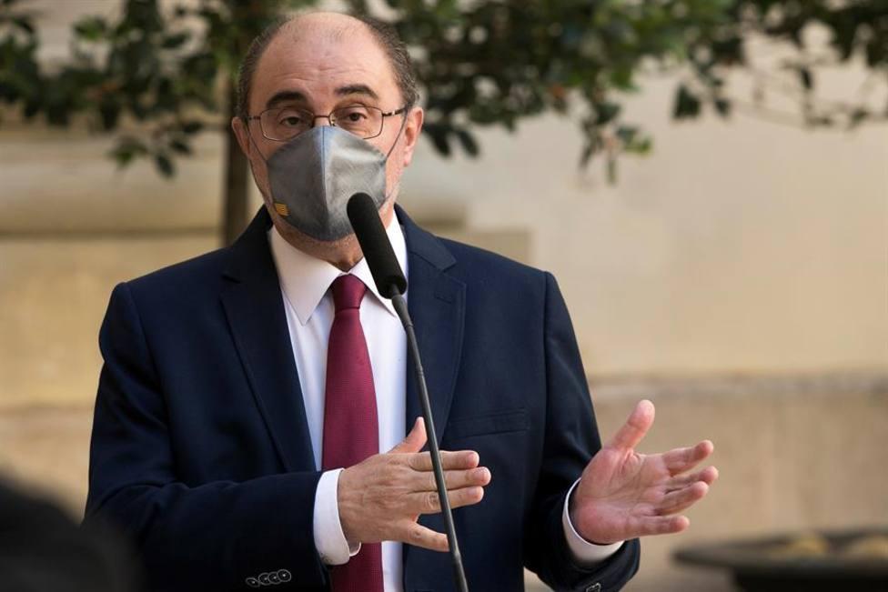El presidente de Aragón, Javier Lambán, se encuentra hospitalizado por una infección