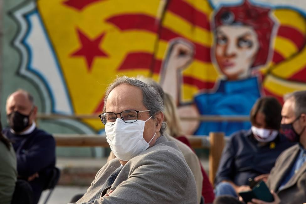 Torra pretende crear su oficina de expresidente de la Generalitat, aunque podría quedar sin efectos