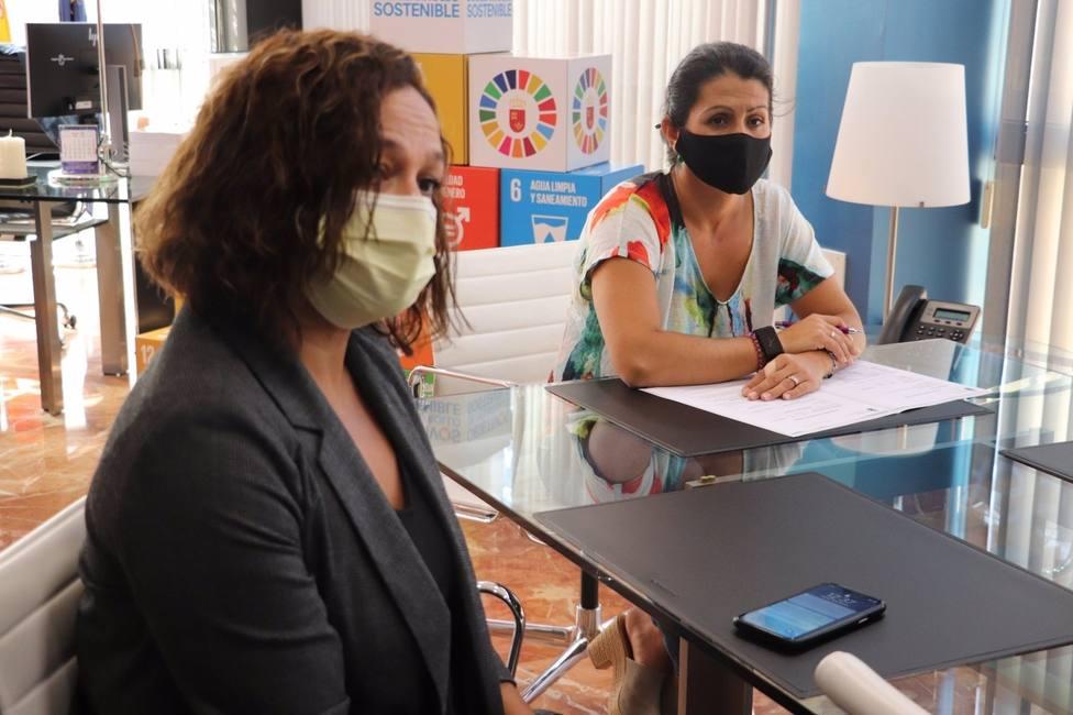 El Gobierno regional y el Ayuntamiento de Lorca evalúan la gestión compartida de la Base de Emergencias Lorca Norte
