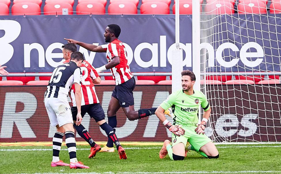 Koke se lamenta tras el segundo gol del Athletic de Bilbao