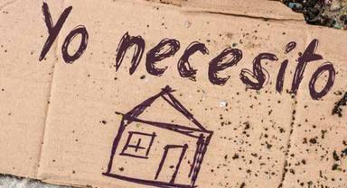 Cáritas denuncia que España cuenta con 40.000 personas sin hogar frente a las 33.000 de 2015