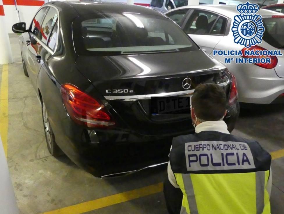 Vehículo robado e intervenido en Motril