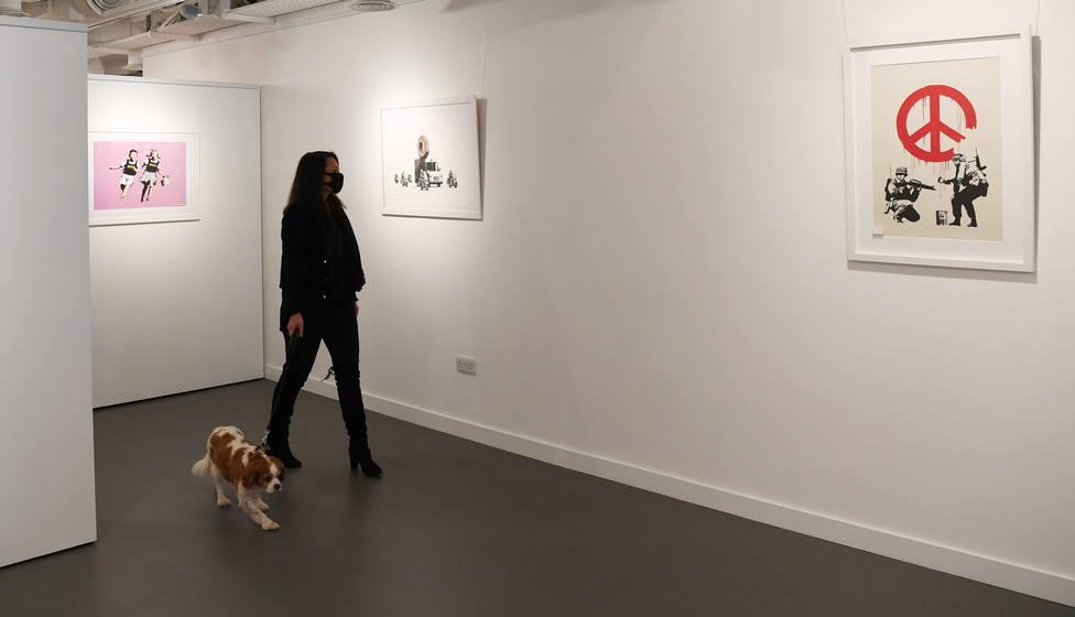 Banksy vuelve a Madrid con una nueva exposición