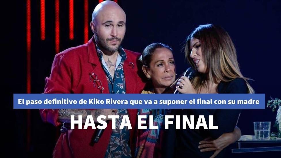 La nueva guerra de Kiko Rivera con Isabel Pantoja que cierra las puertas a una posible reconciliación