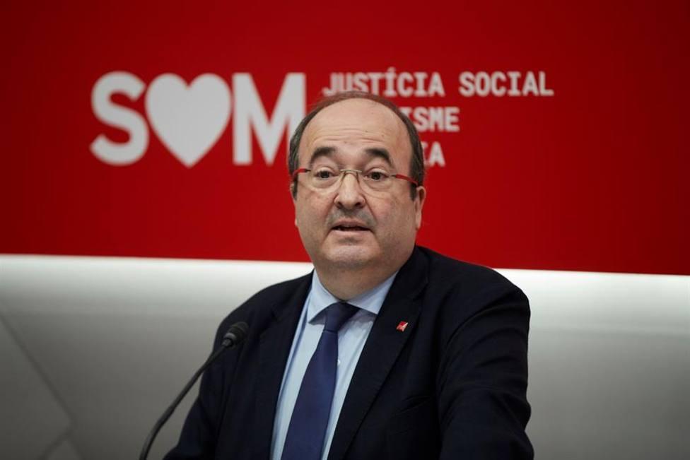 Miquel Iceta, secretario general de los socialistas catalanes, PSC
