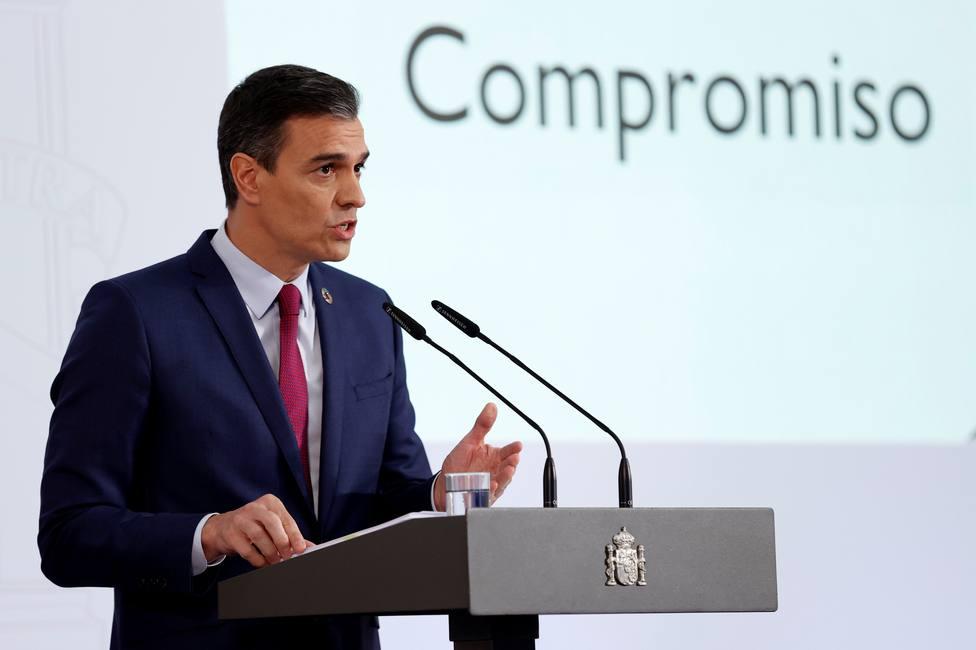 Sánchez: Muy pronto habrá más españoles vacunados que contagiados