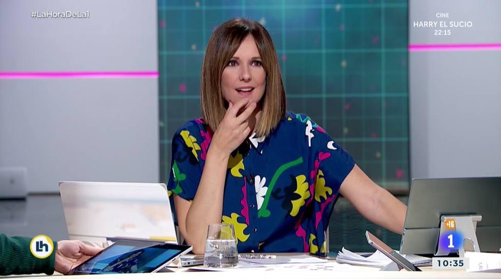 Un colaborador de La Hora de La 1 se mete con Mónica López por su estilismo: ¿Perdona?