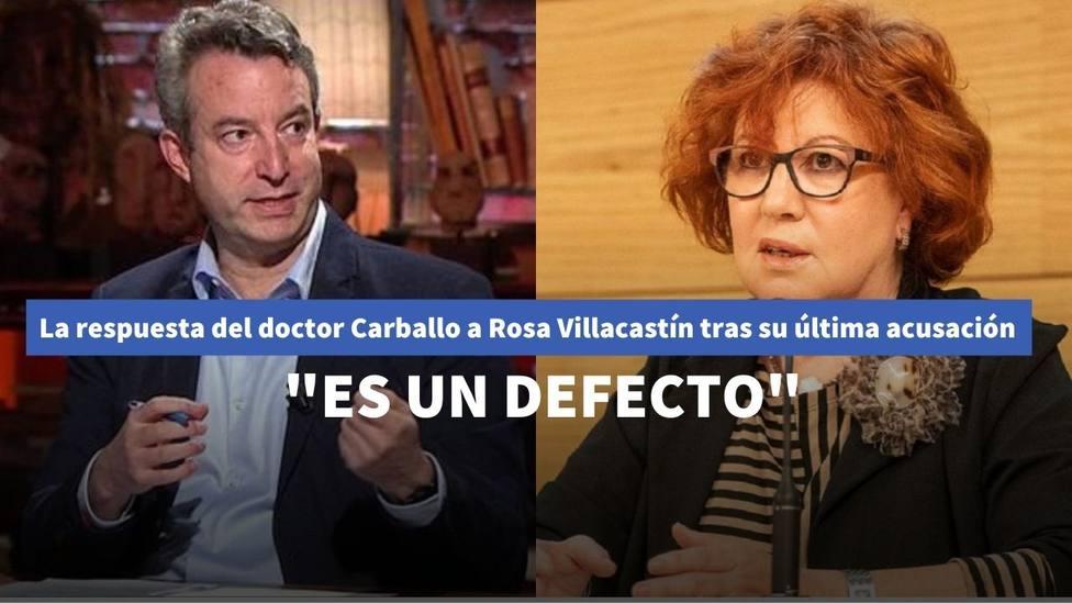 """La contundente respuesta del doctor Carballo a Rosa Villacastín tras su última acusación: """"Es un defecto"""