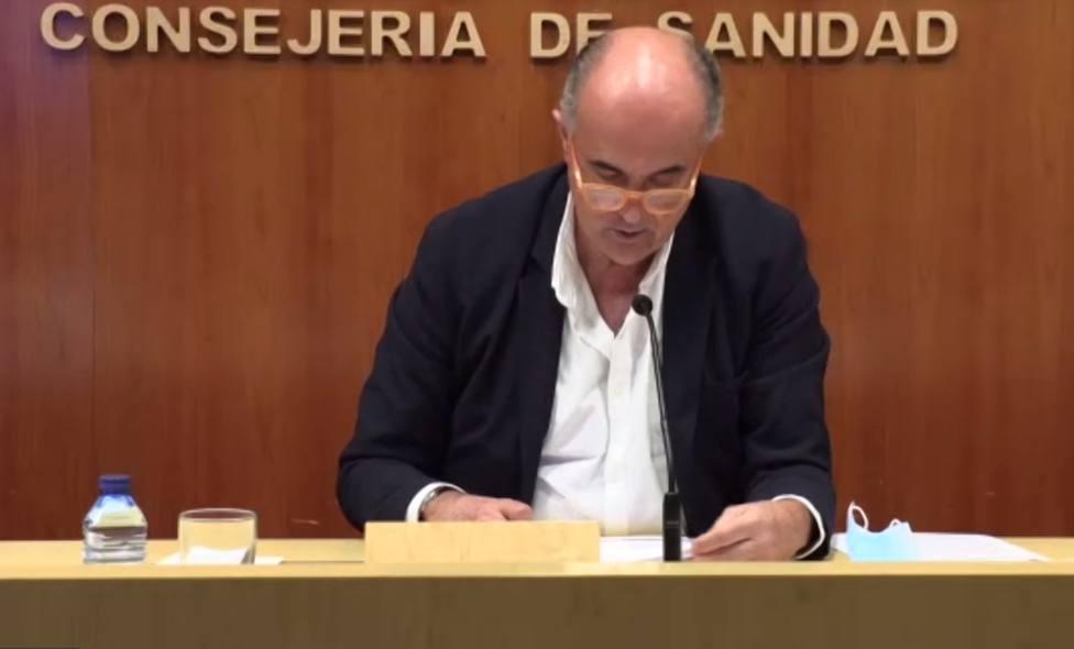 Antonio Zapatero, viceconsejero de Salud Pública y Plan COVID 19