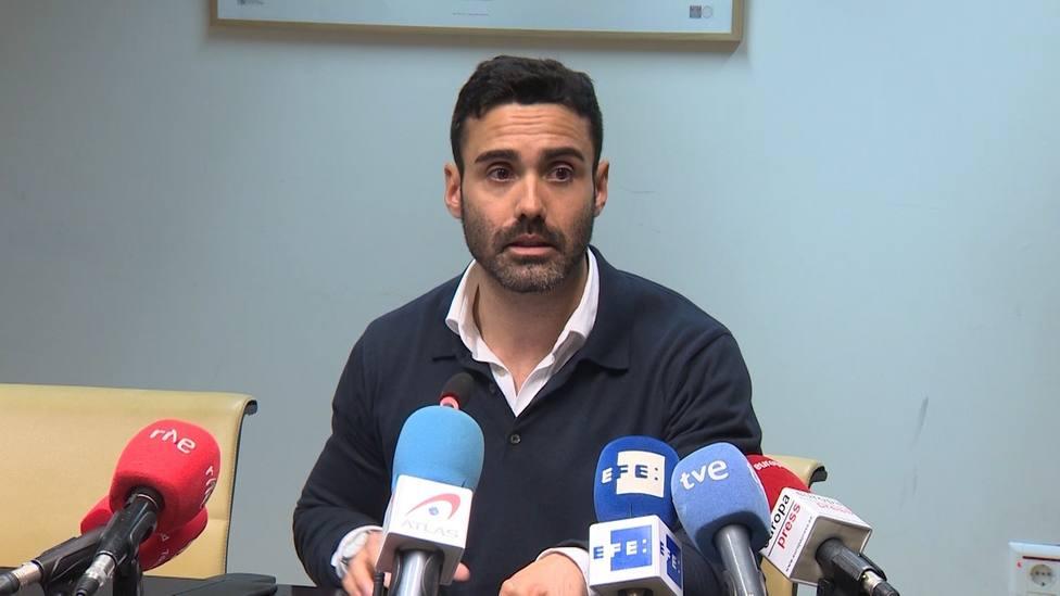 Sergio Brabezo, diputado de Cs en la Asamblea de Madrid