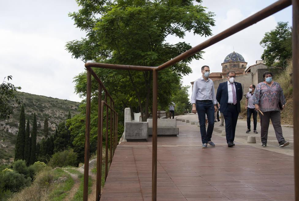 Les Coves de Vinromà ya ha finalizado el proyecto ganador del Concurso de Regeneración Urbana