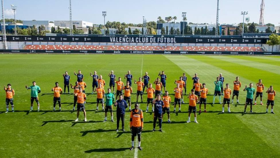 El Valencia muestra su apoyo a Diakhaby