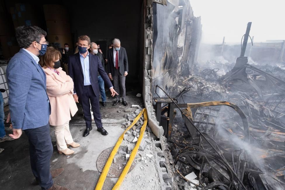 El fuego provocó daños millonarios a dos empresas del polígono