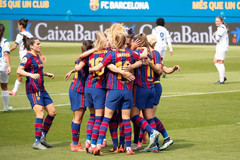 Liga femenina FC Barcelona-Granadilla Tenerife Egatesa