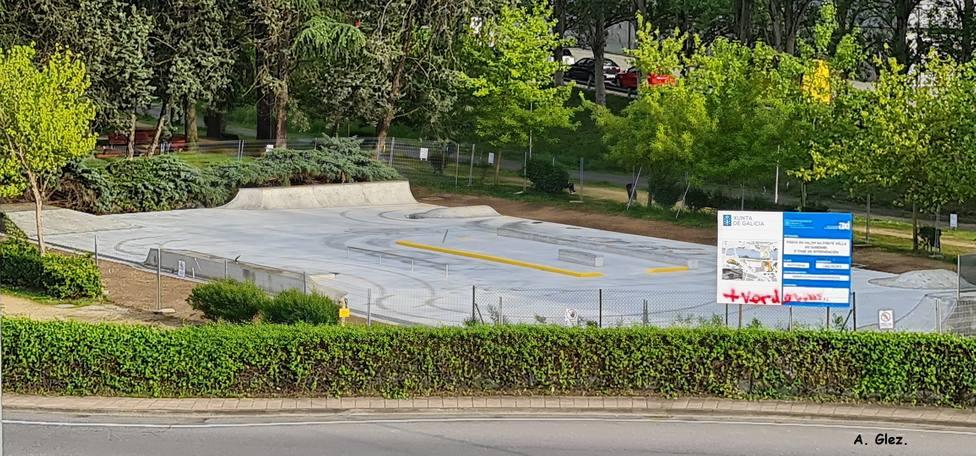 Nueva pista de skate