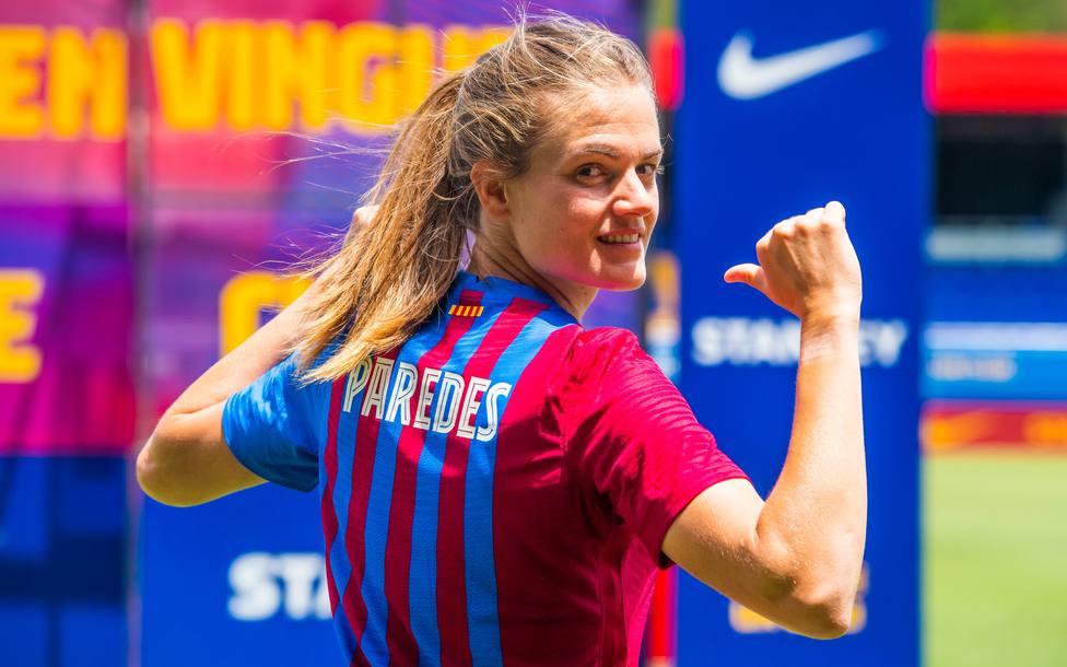 Irene Paredes, fichaje estrella para el Barça Femení