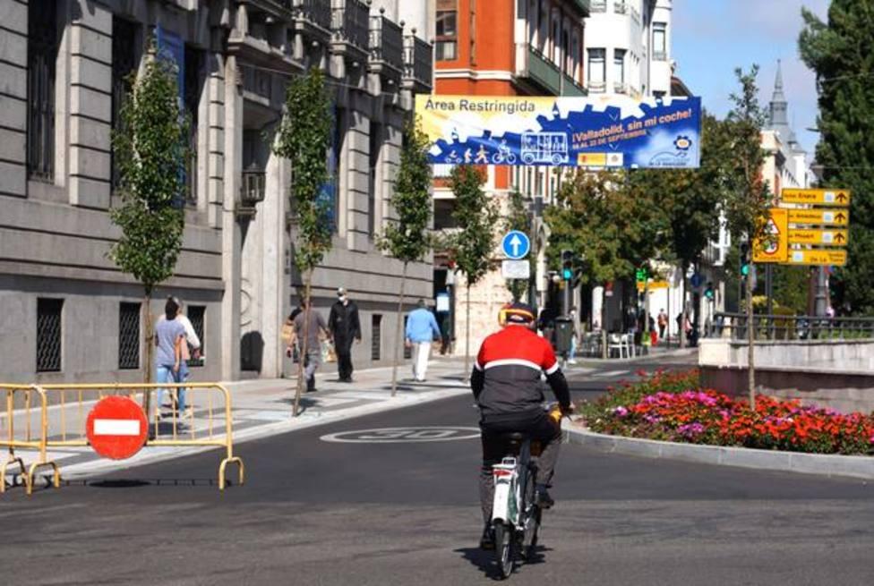 Valladolid blindará el centro en el Día sin coche