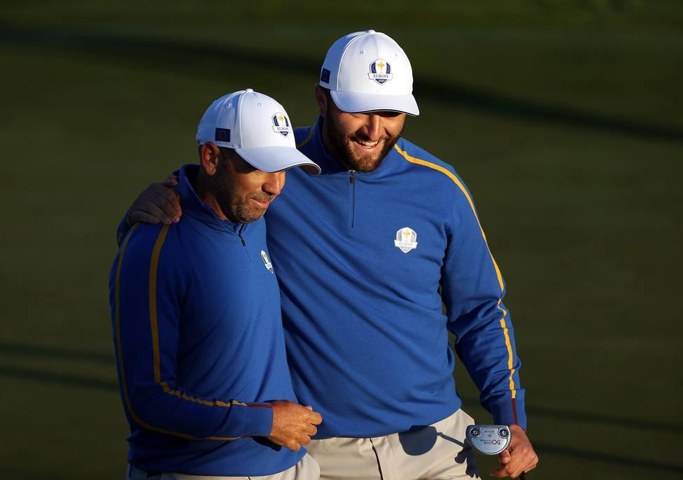 Jon Rahm y Sergio García