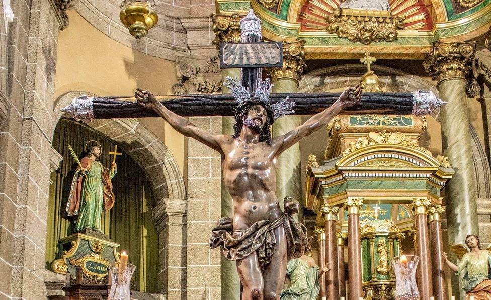Imagen del Santísimo Cristo de la Misericordia de la Cofradía de Dolores - FOTO: Roberto Marín