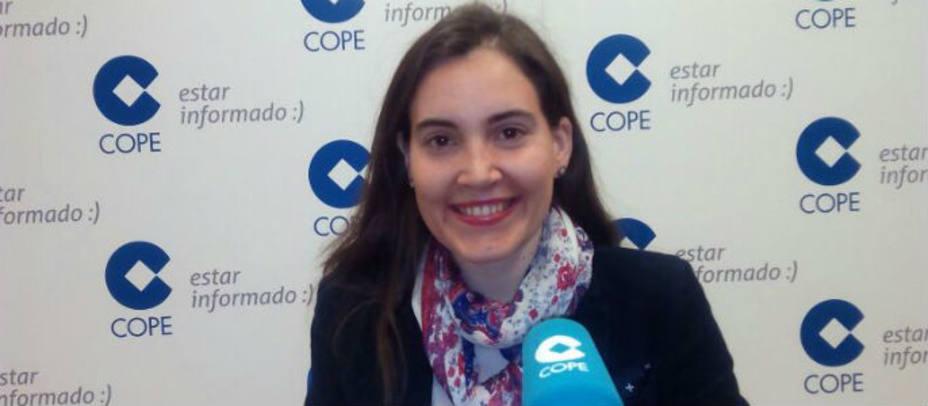 Marián García con su libro El paciente impaciente en COPE