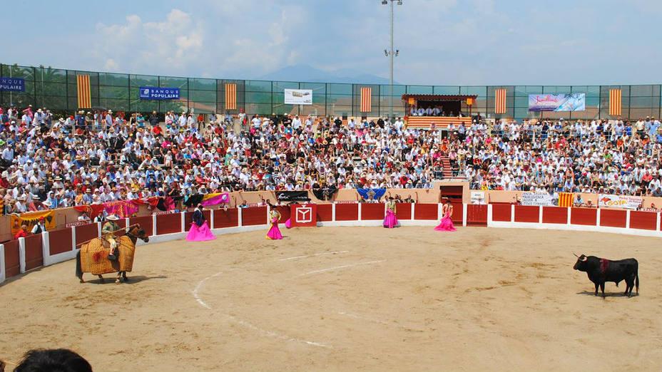 La plaza de toros de Ceret no podrá celebrar este año su feria taurina