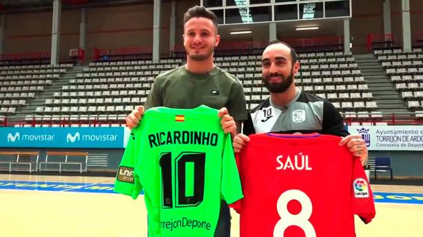 Saúl y Ricardinho